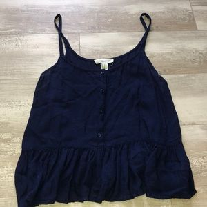 Forever 21 button down tank